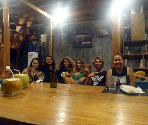 Dinner with Danika, Luke, Marama, Dani, and Gianni. Thanks, guys! <3