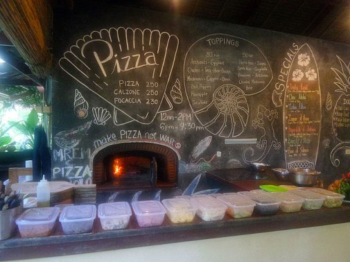 They have a make your own Pizza area available at lunch and dinner