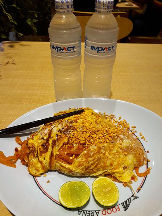 First lunch in BKK
