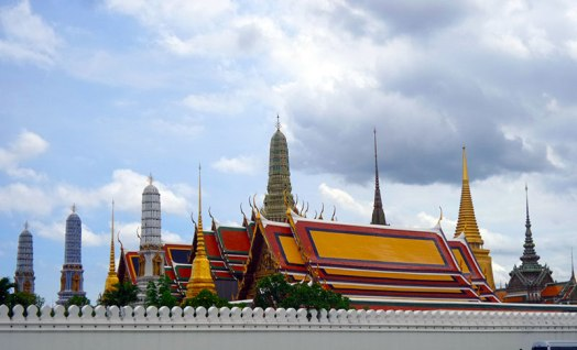 Grand Palace. View from the outside