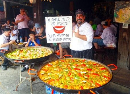 Paella by Chef Nino