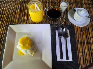 You get free breakfast at your stay in Kermit Resort