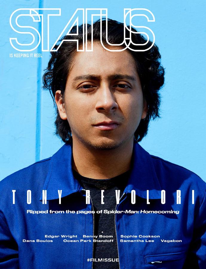 Tony Revolori x STATUS Magazine