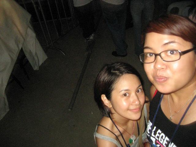 With my friend and co-Destiny's Child faney Wiji
